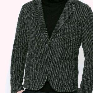 ZARA MEN Grey and black casual blazer